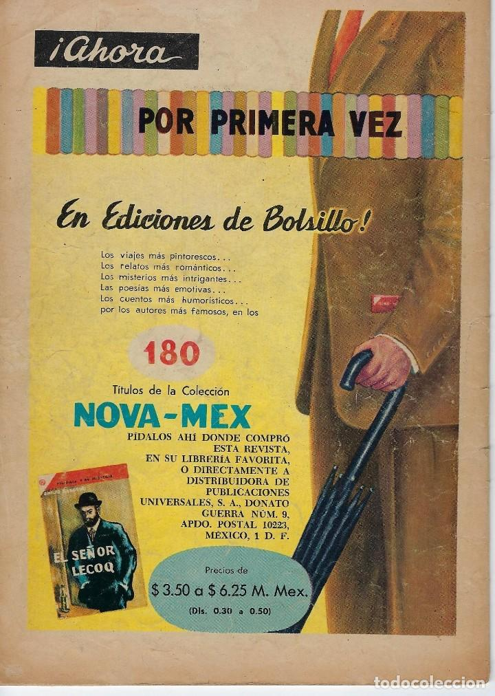 Tebeos: VIDAS ILUSTRES: TADEO HAENKE - AÑO IV, Nº 43 - AGOSTO 1º DE 1959 *** NOVARO MÉXICO *** - Foto 2 - 210176422