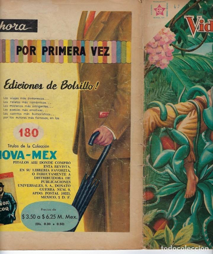 Tebeos: VIDAS ILUSTRES: TADEO HAENKE - AÑO IV, Nº 43 - AGOSTO 1º DE 1959 *** NOVARO MÉXICO *** - Foto 3 - 210176422