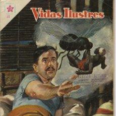 Tebeos: VIDAS ILUSTRES: DAVID BRUCE - AÑO IV, Nº 37 - FEBRERO 1º DE 1959 *** NOVARO MÉXICO ***. Lote 210177155