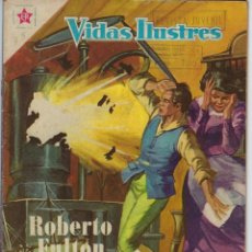 Tebeos: VIDAS ILUSTRES: ROBERTO FULTON - AÑO III, Nº 35 - DICIEMBRE 1º DE 1958 *** NOVARO MÉXICO ***. Lote 210177750