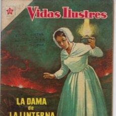 Tebeos: VIDAS ILUSTRES: FLORENCIA NIGHTINGALE - AÑO III, Nº 29 - JUNIO 1º DE 1958 *** NOVARO MÉXICO ***. Lote 210179915