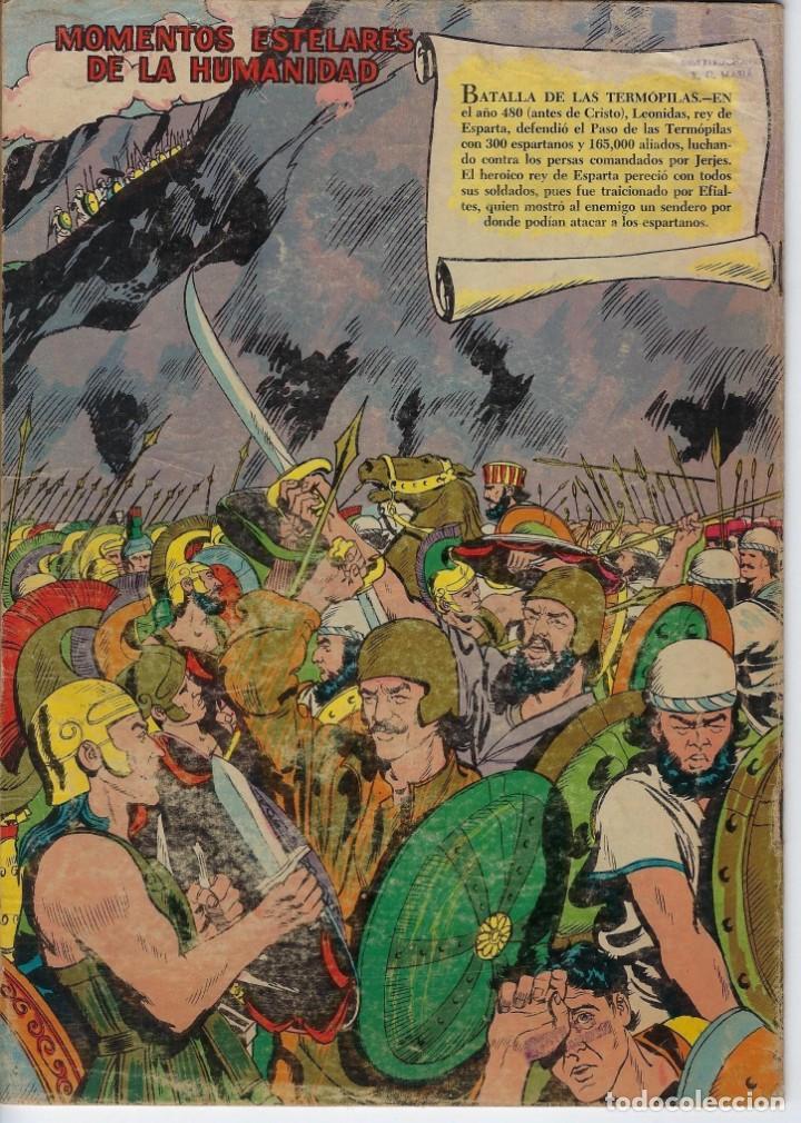 Tebeos: VIDAS ILUSTRES: FLORENCIA NIGHTINGALE - AÑO III, Nº 29 - JUNIO 1º DE 1958 *** NOVARO MÉXICO *** - Foto 2 - 210179915