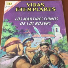 Tebeos: NOVARO VIDAS EJEMPLARES. LOS MÁRTIRES CHINOS DE LOS BÓXERS.. Lote 210380923