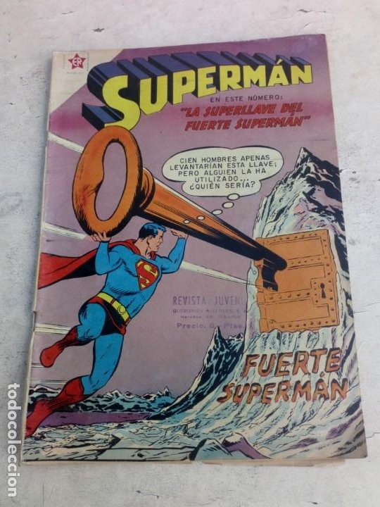 SUPERMAN NOVARO Nº 206 (Tebeos y Comics - Novaro - Superman)