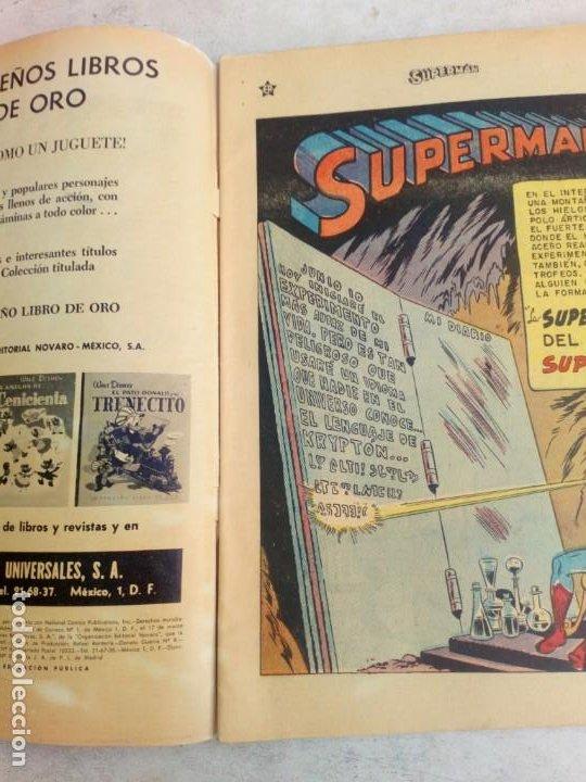 Tebeos: Superman Novaro Nº 206 - Foto 3 - 210406688