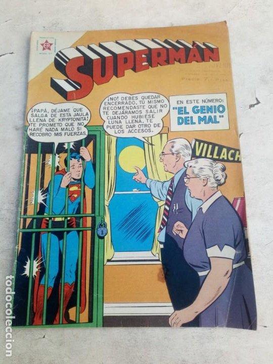 SUPERMAN NOVARO Nº 196 (Tebeos y Comics - Novaro - Superman)