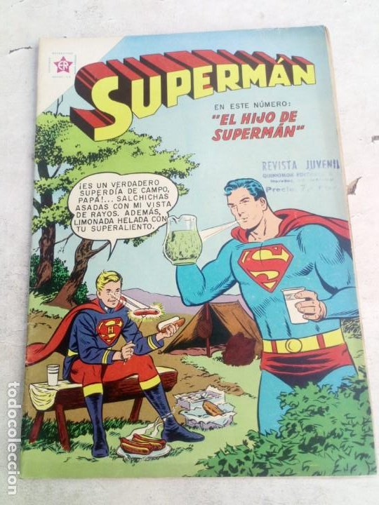 SUPERMAN NOVARO Nº 194 (Tebeos y Comics - Novaro - Superman)