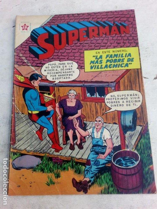 SUPERMAN NOVARO Nº 185 (Tebeos y Comics - Novaro - Superman)