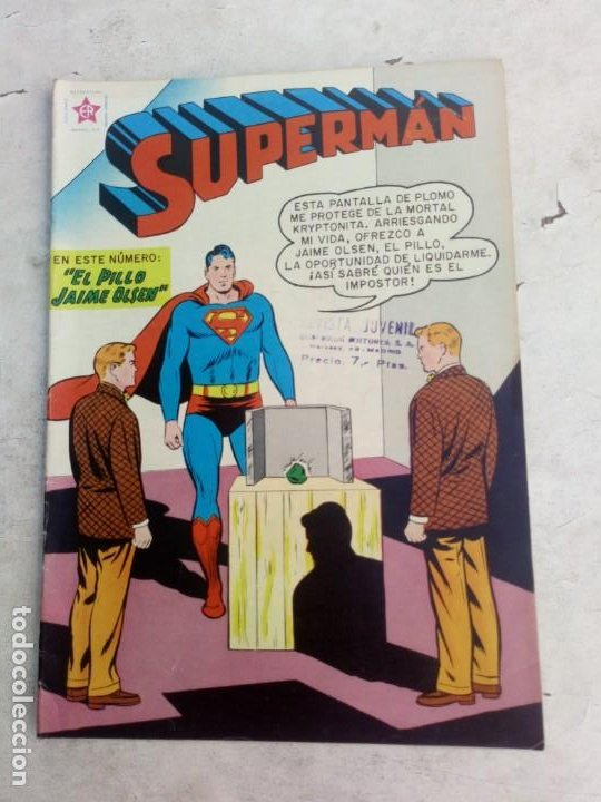 SUPERMAN NOVARO Nº 179 (Tebeos y Comics - Novaro - Superman)