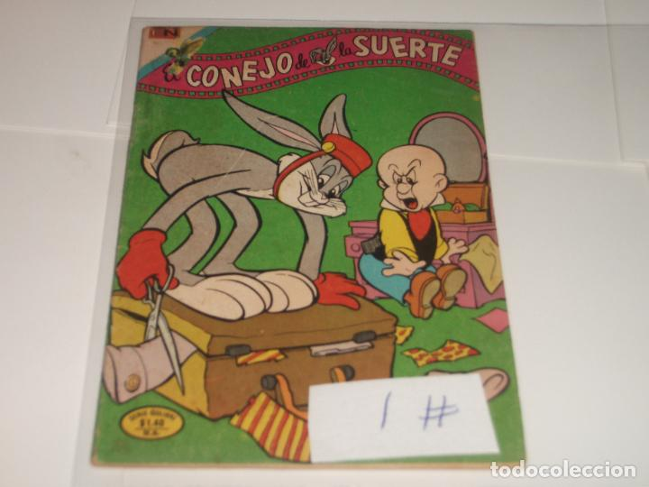 EL CONEJO DE LA SUERTE 1 SERIE COLIBRI BUEN ESTADO (Tebeos y Comics - Novaro - El Conejo de la Suerte)
