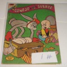 Tebeos: EL CONEJO DE LA SUERTE 1 SERIE COLIBRI BUEN ESTADO. Lote 210706256