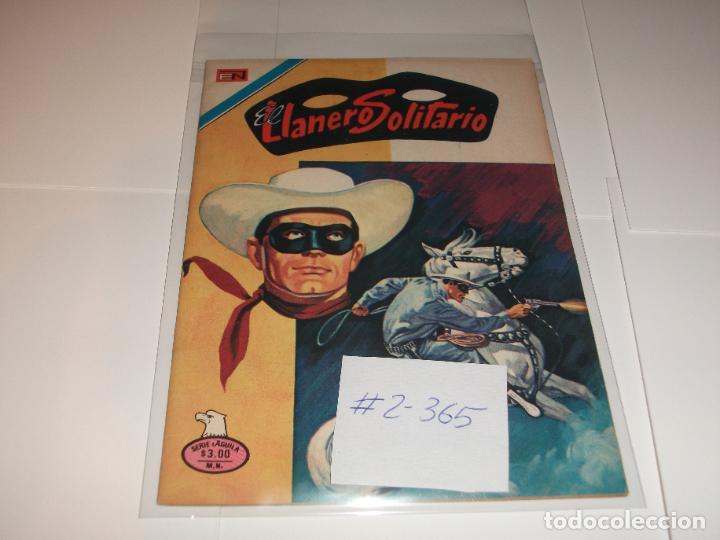 EL LLANERO SOLITARIO 2-365 (Tebeos y Comics - Novaro - El Llanero Solitario)