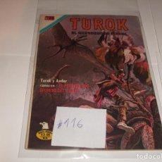 Tebeos: TUROK 116 SERIE AGUILA BUEN ESTADO. Lote 210706357