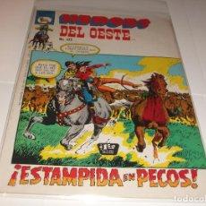 Tebeos: HEROES DEL OESTE 325 PRENSA BUEN ESTADO. Lote 210706455
