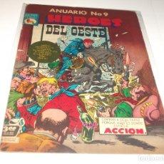 Tebeos: ANUARIO HEROES DEL OESTE 9 PRENSA BUEN ESTADO. Lote 210706456