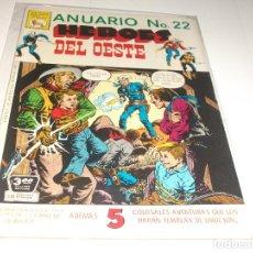 Tebeos: ANUARIO HEROES DEL OESTE 22 PRENSA BUEN ESTADO. Lote 210706471