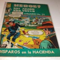 Tebeos: ANUARIO HEROES DEL OESTE 24 PRENSA BUEN ESTADO. Lote 210706475
