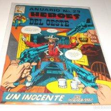 Tebeos: ANUARIO HEROES DEL OESTE 29 PRENSA BUEN ESTADO. Lote 210706485