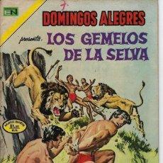 Tebeos: DOMINGOS ALEGRES: LOS GEMELOS DE LA SELVA - AÑO XX - Nº 1022 - DIC. 23 DE 1973 *EDITORIAL NOVARO*. Lote 210736497