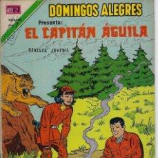 Tebeos: DOMINGOS ALEGRES:EL CAPITÁN ÁGUILA - AÑO XX - Nº 1019 - DIC. 2 DE 1973 *EDITORIAL NOVARO*. Lote 210736777
