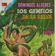 Tebeos: DOMINGOS ALEGRES:LOS GEMELOS DE LA SELVA - AÑO XX - Nº 1004 - AGOS. 19 DE 1973 *EDITORIAL NOVARO*. Lote 210738130