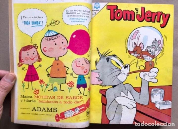 Tebeos: TOMO CON 20 TEBEOS EDITORIAL NOVARO (1965/66). TOM Y JERRY, SÚPER RATÓN, PERIQUITA, PÁJARO LOCO,... - Foto 5 - 210799461