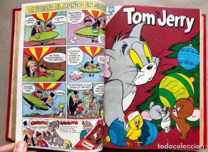 Tebeos: TOMO CON 20 TEBEOS EDITORIAL NOVARO (1965/66). TOM Y JERRY, SÚPER RATÓN, PERIQUITA, PÁJARO LOCO,... - Foto 7 - 210799461