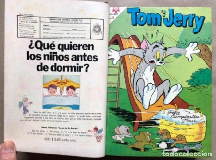 Tebeos: TOMO CON 20 TEBEOS EDITORIAL NOVARO (1965/66). TOM Y JERRY, SÚPER RATÓN, PERIQUITA, PÁJARO LOCO,... - Foto 9 - 210799461