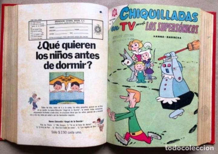 Tebeos: TOMO CON 20 TEBEOS EDITORIAL NOVARO (1965/66). TOM Y JERRY, SÚPER RATÓN, PERIQUITA, PÁJARO LOCO,... - Foto 12 - 210799461