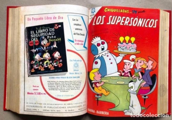 Tebeos: TOMO CON 20 TEBEOS EDITORIAL NOVARO (1965/66). TOM Y JERRY, SÚPER RATÓN, PERIQUITA, PÁJARO LOCO,... - Foto 13 - 210799461