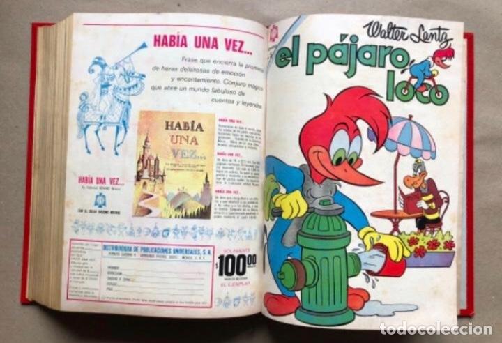 Tebeos: TOMO CON 20 TEBEOS EDITORIAL NOVARO (1965/66). TOM Y JERRY, SÚPER RATÓN, PERIQUITA, PÁJARO LOCO,... - Foto 21 - 210799461