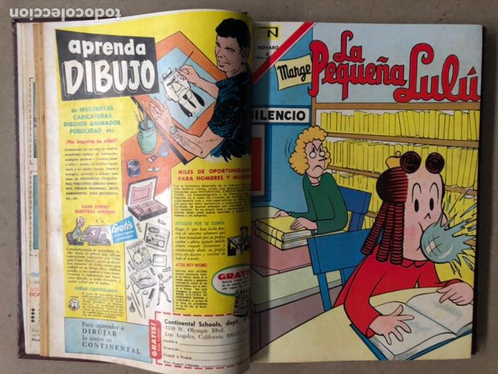 Tebeos: LA PEQUEÑA LULÚ + FIX Y FOXI (EDITORIAL NOVARO AÑOS 60). TOMO CON 9 TEBEOS ENCUADERNADOS - Foto 5 - 211422867