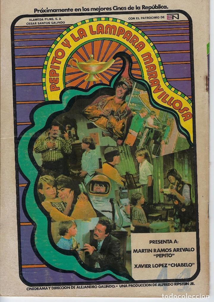 Tebeos: DOMINGOS ALEGRES: AUNQUE USTED NO LO CREA -AÑO XIX - Nº 962 - OCT. 29 DE 1972 ** EDITORIAL NOVARO ** - Foto 2 - 211644351