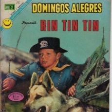 Tebeos: DOMINGOS ALEGRES: RIN TIN TIN - AÑO XIX - Nº 945 - JUL. 2 DE 1972 ** EDITORIAL NOVARO **. Lote 211644629