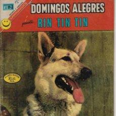 Tebeos: DOMINGOS ALEGRES: RIN TIN TIN - AÑO XVIII - Nº 937 - MAYO 7 DE 1972 ** EDITORIAL NOVARO **. Lote 211644739