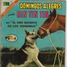 Tebeos: DOMINGOS ALEGRES: RIN TIN TIN - AÑO XVIII - Nº 928 - MARZO 5 DE 1972 ** EDITORIAL NOVARO **. Lote 211644908
