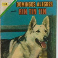 Tebeos: DOMINGOS ALEGRES: RIN TIN TIN - AÑO XVIII - Nº 924 - FEB. 6 DE 1972 ** EDITORIAL NOVARO **. Lote 211644994