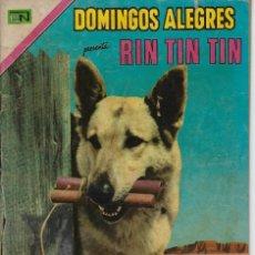 Tebeos: DOMINGOS ALEGRES: RIN TIN TIN - AÑO XVIII - Nº 916 - DIC. 12 DE 1971 ** EDITORIAL NOVARO **. Lote 211645214