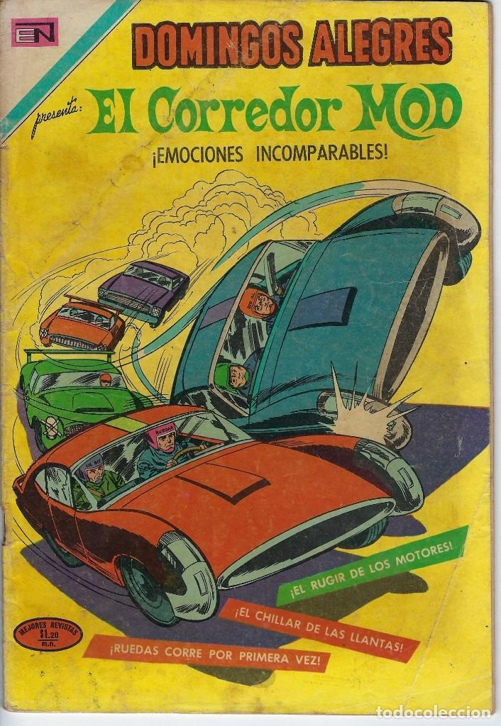 DOMINGOS ALEGRES: EL CORREDOR MOD - AÑO XVIII - Nº 913 - NOV. 21 DE 1971 ** EDITORIAL NOVARO ** (Tebeos y Comics - Novaro - Domingos Alegres)