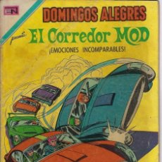Tebeos: DOMINGOS ALEGRES: EL CORREDOR MOD - AÑO XVIII - Nº 913 - NOV. 21 DE 1971 ** EDITORIAL NOVARO **. Lote 211645523