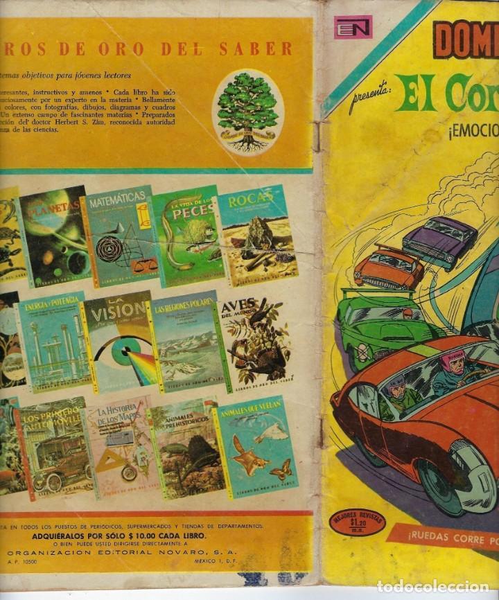 Tebeos: DOMINGOS ALEGRES: EL CORREDOR MOD - AÑO XVIII - Nº 913 - NOV. 21 DE 1971 ** EDITORIAL NOVARO ** - Foto 3 - 211645523