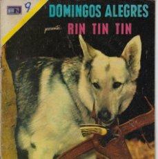 Tebeos: DOMINGOS ALEGRES: RIN TIN TIN - AÑO XVIII - Nº 912 - NOV. 14 DE 1971 ** EDITORIAL NOVARO **. Lote 211646398
