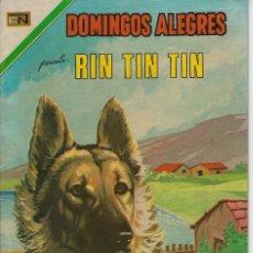 Tebeos: DOMINGOS ALEGRES: RIN TIN TIN - AÑO XVIII - Nº 908 - OCT. 14 DE 1971 ** EDITORIAL NOVARO **. Lote 211647166