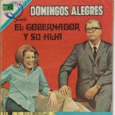 Tebeos: DOMINGOS ALEGRES: EL GOBERNADOR Y SU... AÑO XVIII - Nº 889 - ABRIL 16 DE 1971 ** EDITORIAL NOVARO **. Lote 211650203