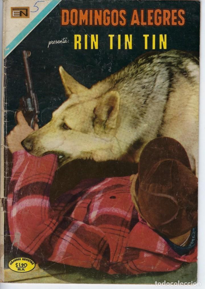 DOMINGOS ALEGRES: RIN TIN TIN - AÑO XVIII - Nº 896 - JUN. 18 DE 1971 ** EDITORIAL NOVARO ** (Tebeos y Comics - Novaro - Domingos Alegres)