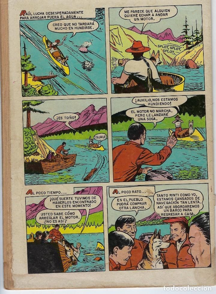 Tebeos: DOMINGOS ALEGRES: RIN TIN TIN - AÑO XVIII - Nº 896 - JUN. 18 DE 1971 ** EDITORIAL NOVARO ** - Foto 2 - 211650515