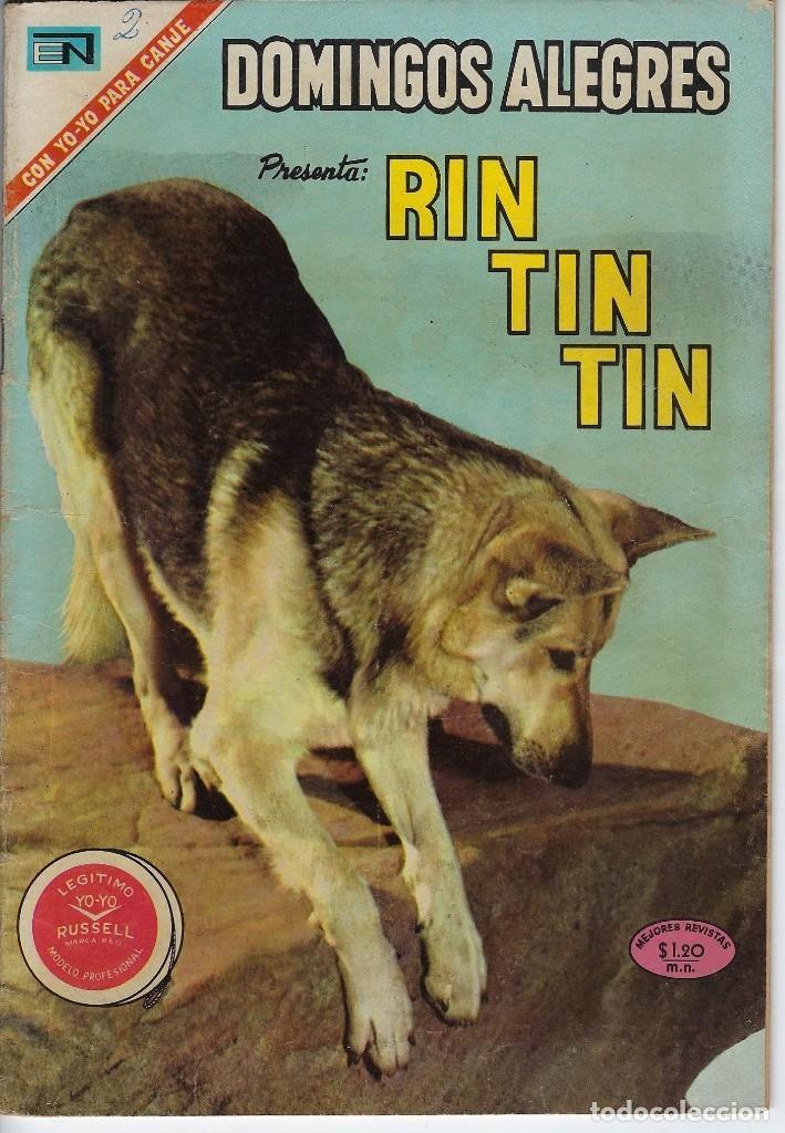 DOMINGOS ALEGRES: RIN TIN TIN - AÑO XVII - Nº 884 - MAR. 7 DE 1971 ** EDITORIAL NOVARO ** (Tebeos y Comics - Novaro - Domingos Alegres)