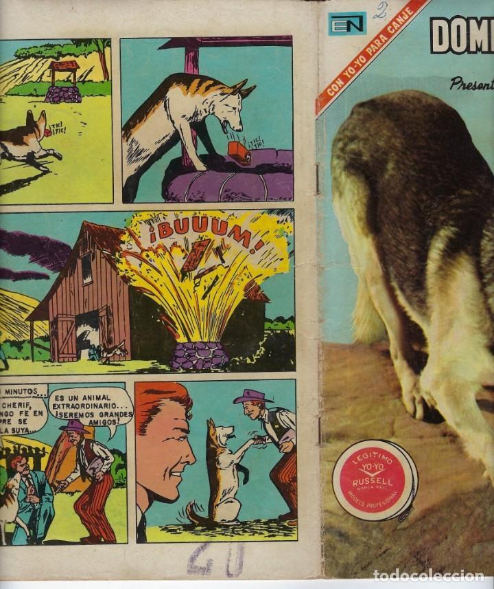 Tebeos: DOMINGOS ALEGRES: RIN TIN TIN - AÑO XVII - Nº 884 - MAR. 7 DE 1971 ** EDITORIAL NOVARO ** - Foto 3 - 211650698
