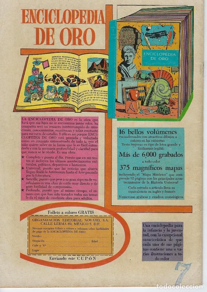 Tebeos: DOMINGOS ALEGRES: EL PODEROSO SANSÓN - AÑO XVII - Nº 870 - NOV. 29 DE 1970 ** EDITORIAL NOVARO ** - Foto 2 - 211650883