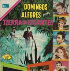 Tebeos: DOMINGOS ALEGRES: TIERRA DE GIGANTES - AÑO XVII - Nº 845 - JUN. 7 DE 1970 ** EDITORIAL NOVARO **. Lote 211651169
